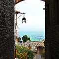 Town View In Italy by HazelPhoto