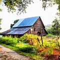 Townville Barn by Lynne Jenkins