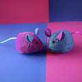 Toy Mice by Elisabeth Lucas