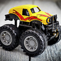 Toy Monster Truck by Donald Erickson