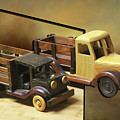 Toy Trucks by Ericamaxine Price