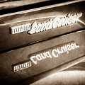 Toyota Land Cruiser Emblem  -0584s by Jill Reger
