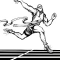 Track Sprinter by Keith Naquin