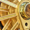 Traction Engine Wheel by Catchavista