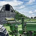Tractor Barn by Nikolyn McDonald