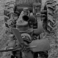 Tractor Bw by Mark Victors