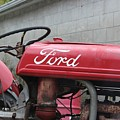Tractor, Ford  by Anelisa Artist Photographer