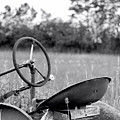 Tractor In Long Grass by Kristi Beers-Mason