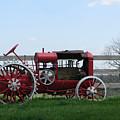 Tractor by Martie DAndrea