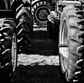 Tractor Tire Lineup by Luke Moore