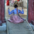 Traditional Clothes In Korea by Bill Hamilton