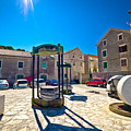 Traditional Dalmatian Town Of Tisno Square by Brch Photography