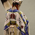 Pow Wow Traditional Dancer 1 by Bob Christopher