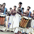 Traditional Drummers by Jijo George