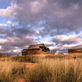 Traditional Hut Of Madagascar Countryside by Louloua Asgaraly