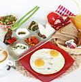 Traditional Israeli Breakfast by PhotoStock-Israel