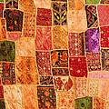 Traditional Patchwork Tapestry by Grigorios Moraitis