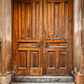 Traditional Wooden Door by Sophie McAulay