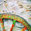 Traditional Sicilian Cart Wheel Detail by Silvia Ganora