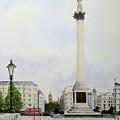 Trafalgar Square London by Diane Marcotte