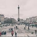 Trafalgar Square by Martin Newman