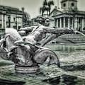 Trafalgar Square by Pennie  McCracken