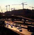Traffic And Cranes by Buddy Scott