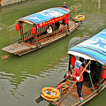 Traffic In Qibao - Shanghai's Local Ancient Water Town by Christine Till