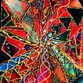 Traffic Jam In Triangle Land by Brenda Adams