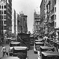 Traffic On Fifth Avenue by Underwood Archives