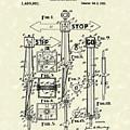 Traffic Signal 1922 Patent Art by Prior Art Design