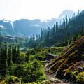 Trail In Mountains by Yulia Kazansky