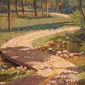 Trail Shadows by Becky Christenson