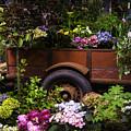 Trailer Full Of Flowers by Garry Gay
