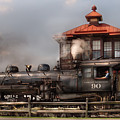Train - Engine -the Great Western 90 by Mike Savad