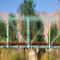 Train Bridge by Donna Blackhall