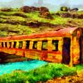 Train Bridge by George Rossidis