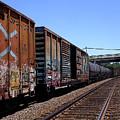 Train Colors 1 by Anne Cameron Cutri