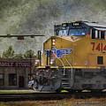 Train Coming Through by Joan Bertucci