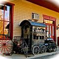Train Depot by Elizabeth Tillar