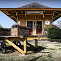 Train Depot by Patricia Montgomery