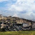 Train - Engine - Nickel Plate Road by Mike Savad