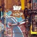 Train Graffiti 2 by Anita Burgermeister