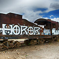 Train Graveyard Uyuni Bolivia 13 by Bob Christopher