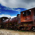 Train Graveyard Uyuni Bolivia 15 by Bob Christopher