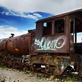 Train Graveyard Uyuni Bolivia 16 by Bob Christopher