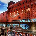 Train Graveyard Uyuni Bolivia 17 by Bob Christopher
