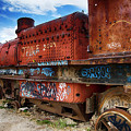 Train Graveyard Uyuni Bolivia 18 by Bob Christopher