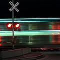 Train In Motion by Steven Jones