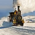 Train In Winter by Scott Read